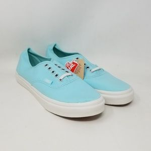 Vans Authentic Slim Blue Sneakers Men's Size 7.5